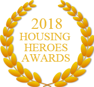 Housing heroes 2018 crest